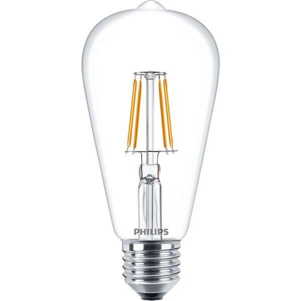 Philips Classic LED Filament LED-lampe 4 W, edisonform