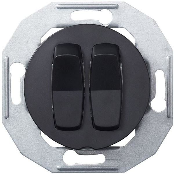 Schneider Electric Renova WDE011206 Vippestrømstiller uten ramme, svart 2 poler