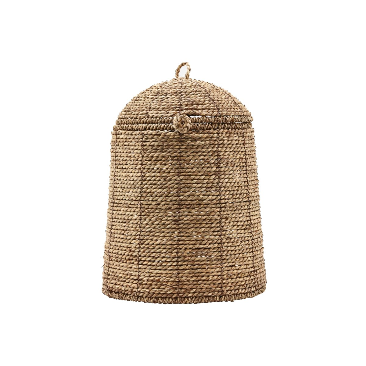 House Doctor - Rama Basket With Lid - Natural (259440103)