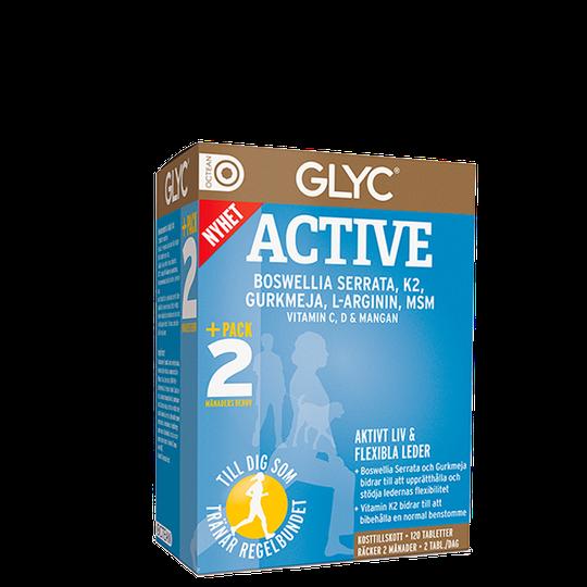 Glyc Active, 120 kapslar