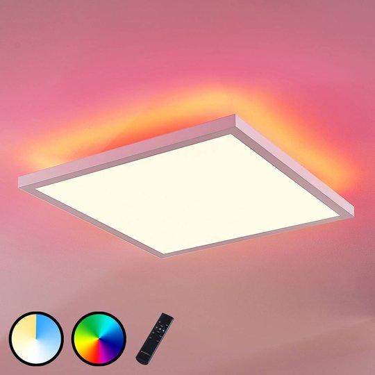 LED-paneeli Brenda CCT, kaukosäädin, 40 x 40 cm
