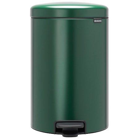 NewIcon Pedalbøtte Pine Green 20 liter