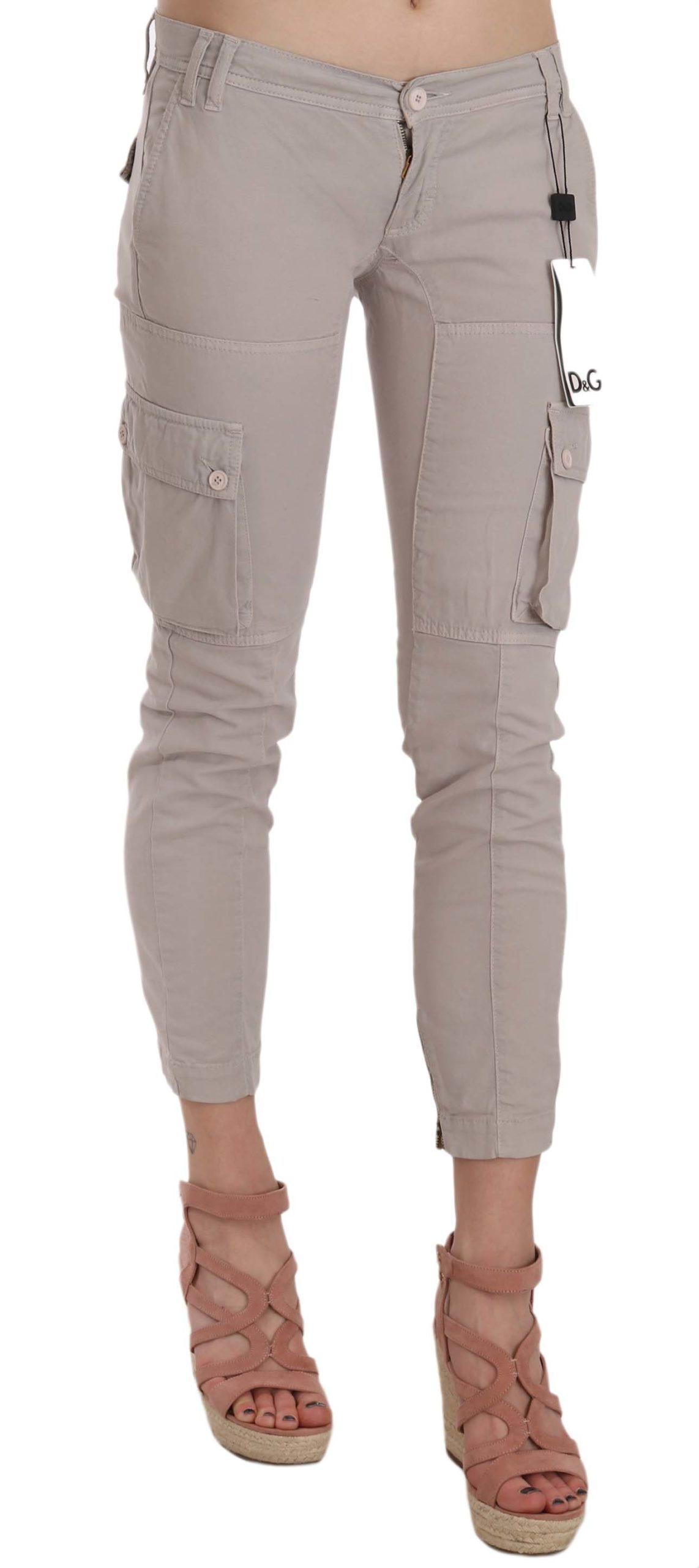 Dolce & Gabbana Women's Trouser Blue BYX1335 - IT38|XS