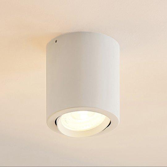 Arcchio Bircan -LED-alasvalo, alumiinia, 16 W