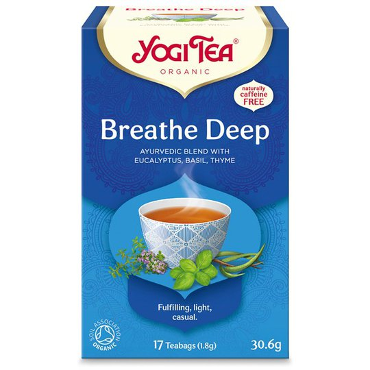 Yogi Tea Breathe Deep, 17 påsar
