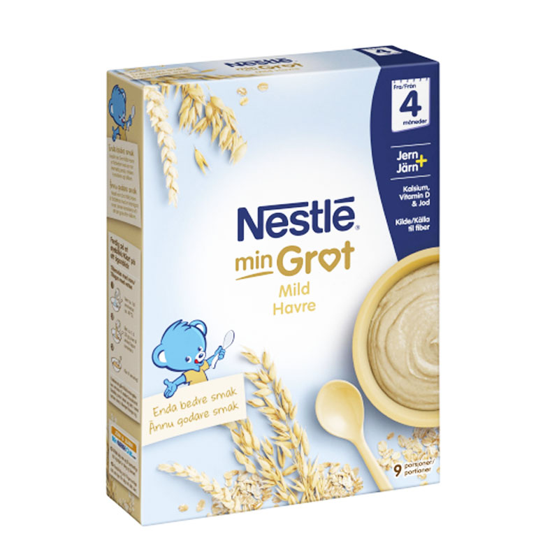 Barnmat Mild Havregröt 270g - 56% rabatt