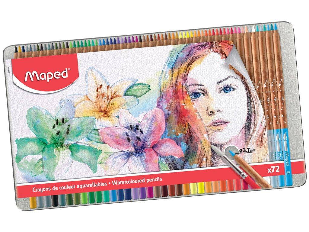Maped - Artists - Watercolor Pencils (72 pcs) (832472)