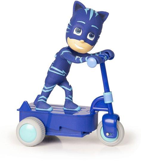 Pysj-heltene Catboy På Sparkesykkel, Blå