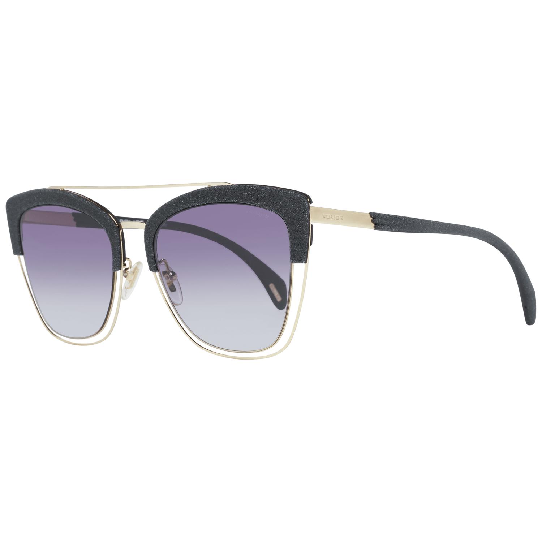 Police Women's Sunglasses Gold SPL618 540300