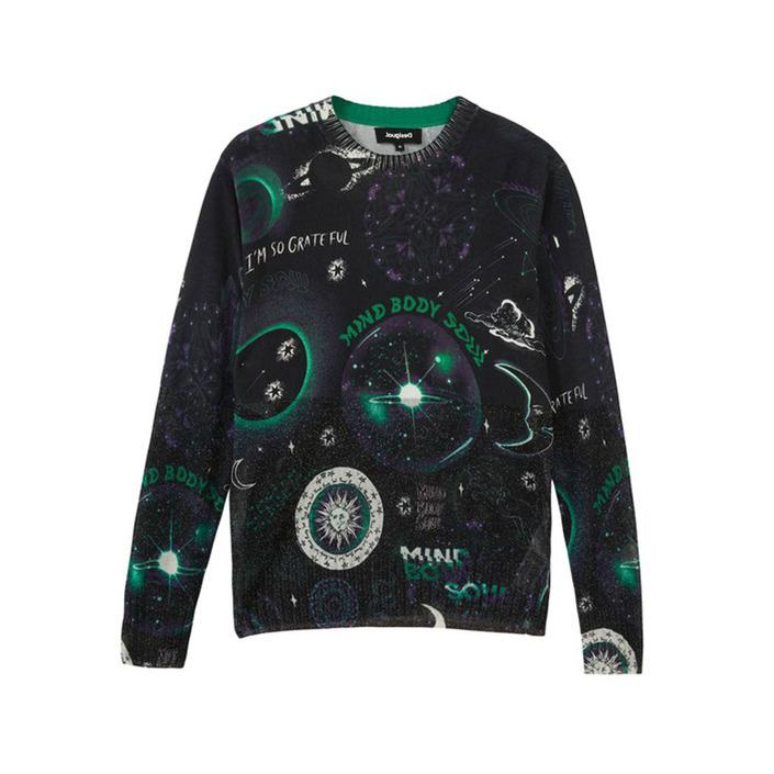 Desigual Women's Sweater Black 319866 - black S