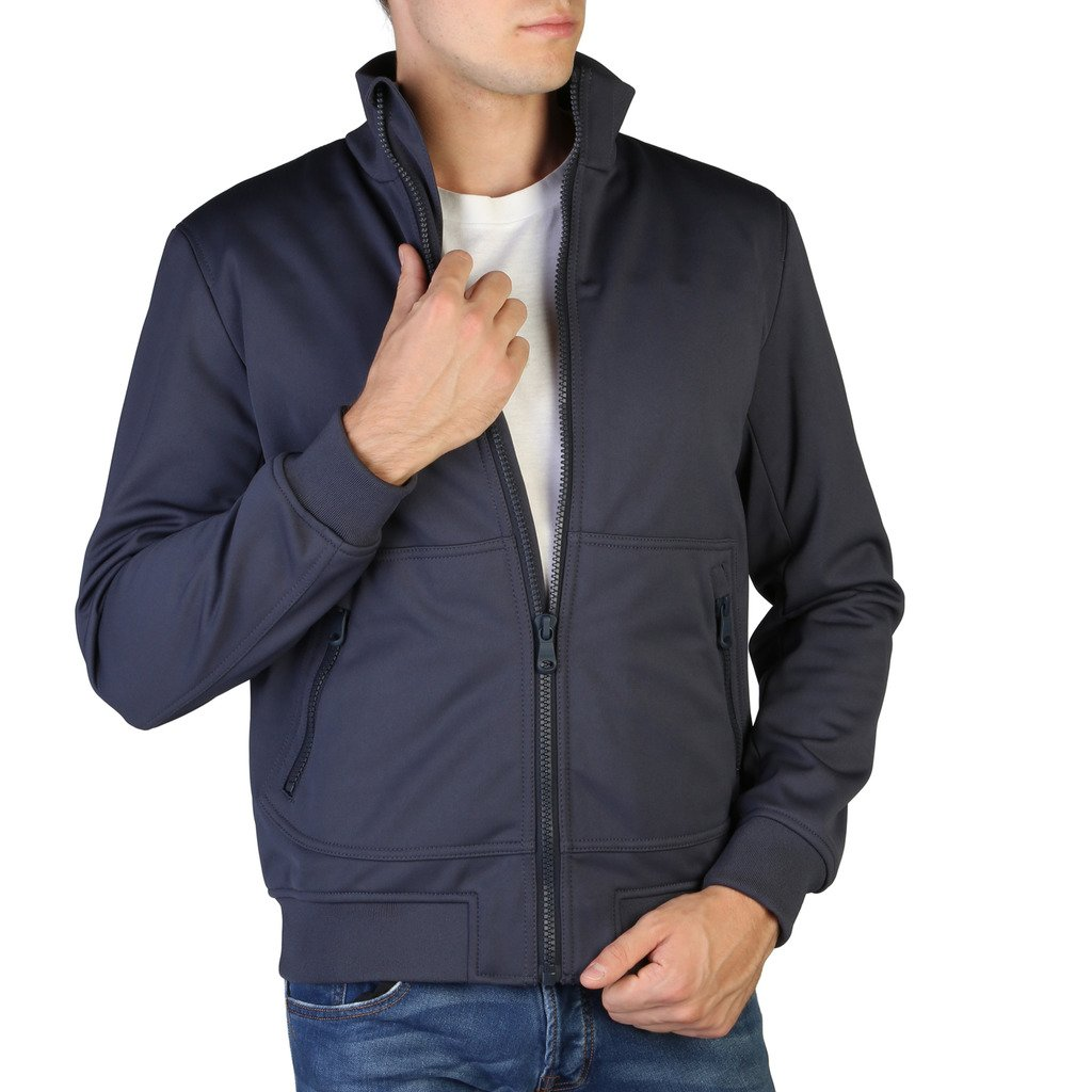 Geox Men's Jacket Blue M6420BT2282 - blue 48