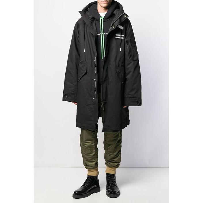 Diesel Men's Jacket Black 320392 - black L