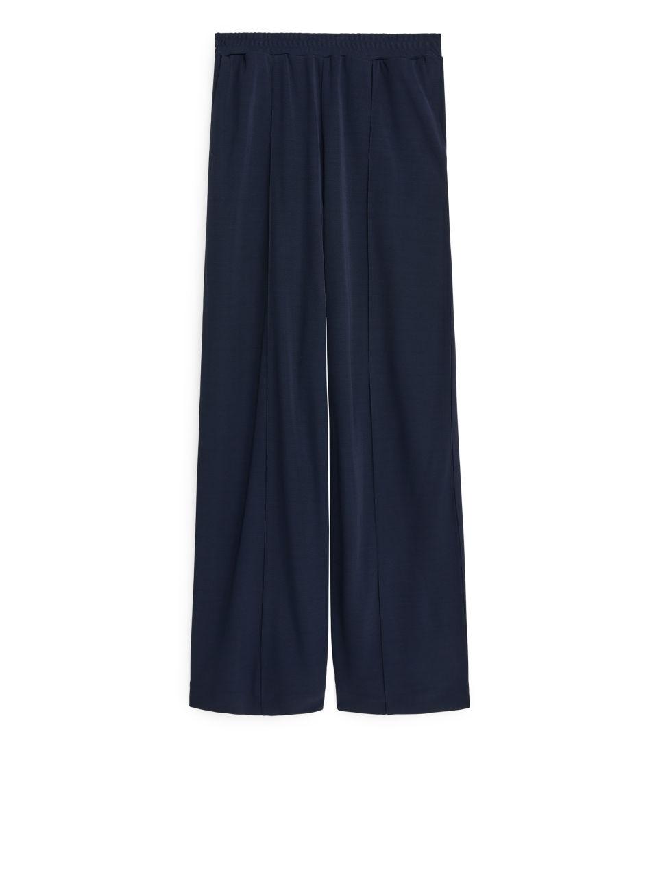Viscose Trousers - Blue