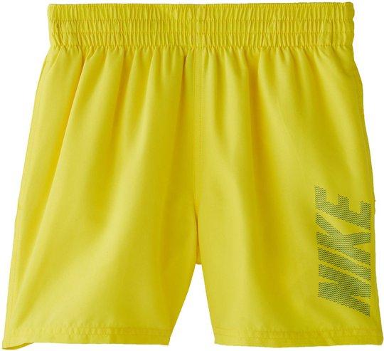 Nike Swim Logo Solid Badeshorts, Opti Yellow L