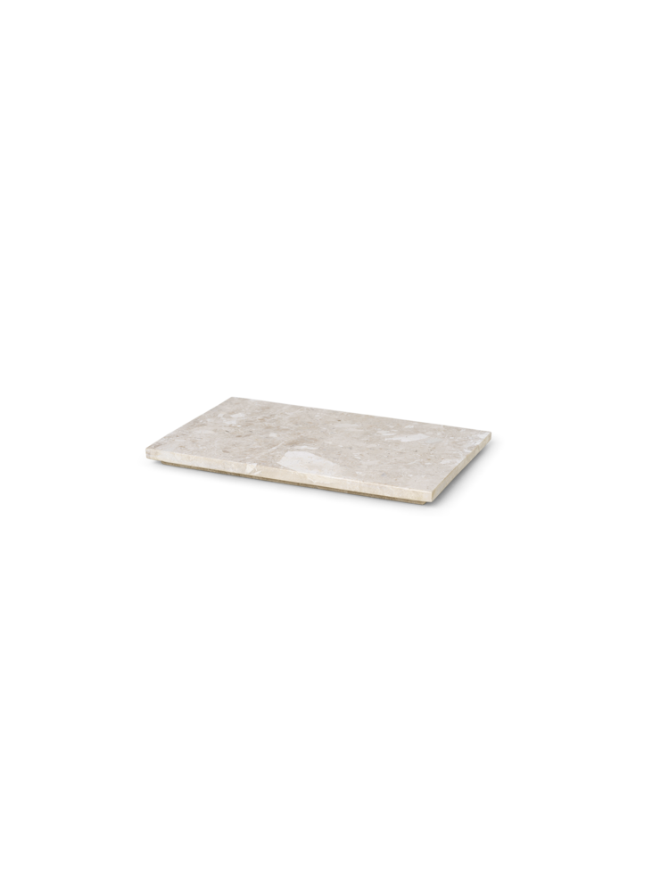 Ferm Living - Tray For Plant Box Marble - Beige (1104263728)