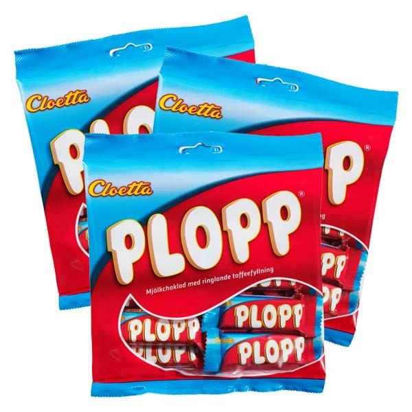 Plopp Mini 158 g x 3 st