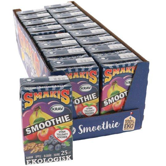 Eko Smoothie Havre & Frukt 18-pack - 50% rabatt