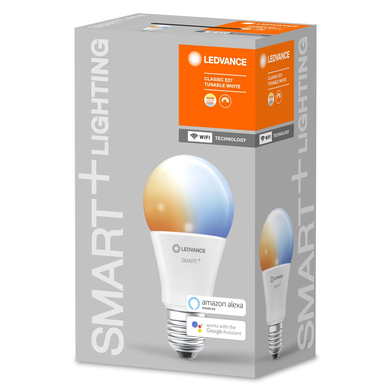 LEDVANCE - SMART+ standard 60W/2700-6500 frosted E27 WiFi