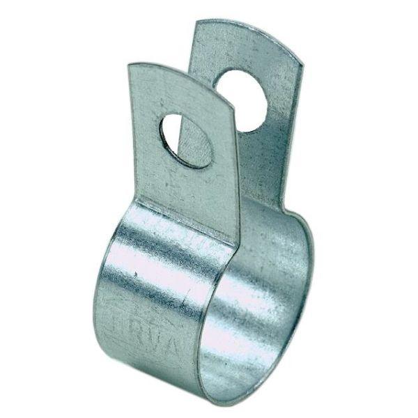 Gelia 3016027022 Klemmebøyle for stålrør, forsinket, 6-pakning 17,2 mm