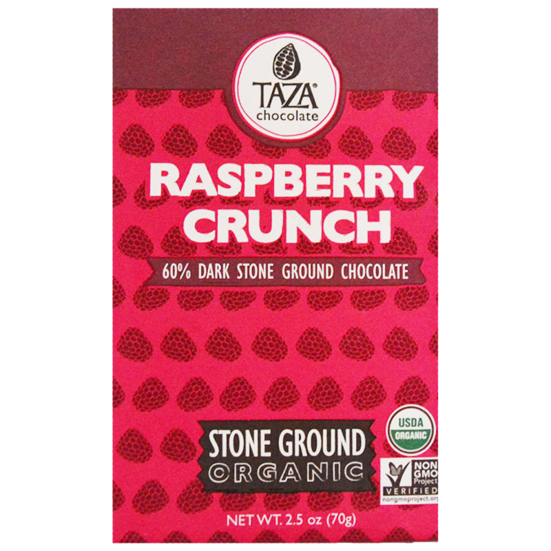 "Choklad Mörk ""Raspberry Crunch"" 70g - 56% rabatt"