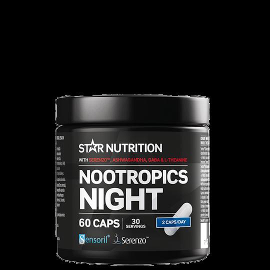 Nootropics Night, 60 kapselia
