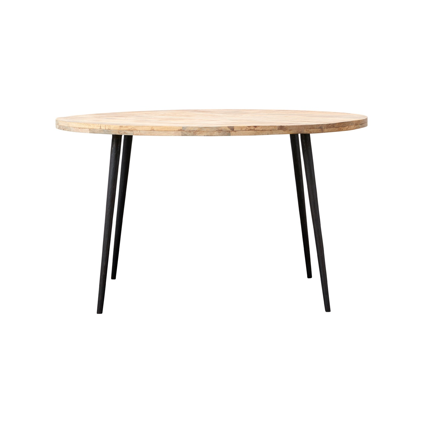 Runt matbord CLUBE Ø 130 cm ljus, House Doctor