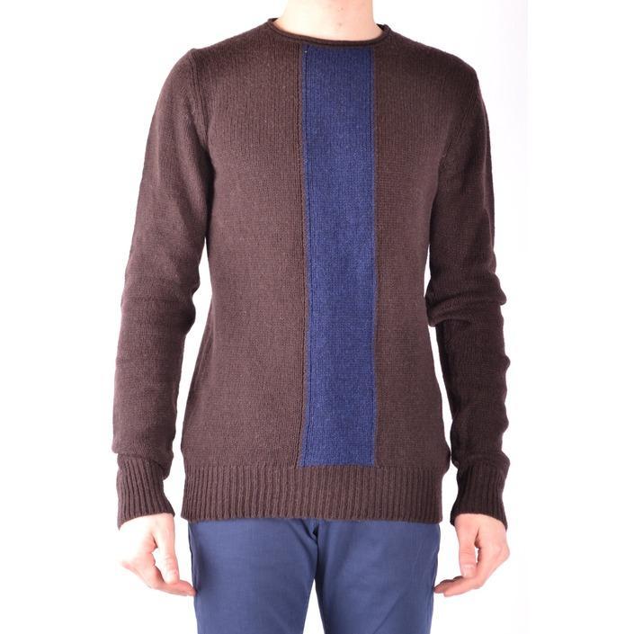 Daniele Alessandrini Men's Sweater Brown 161313 - brown 50