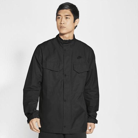 Nike M Nsw Sce Wvn M65 Jkt Jackor BLACK/BLACK