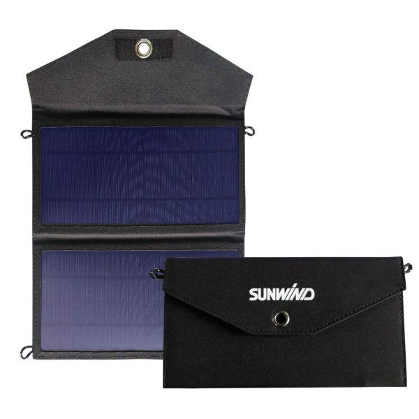 Sunwind 104245 Aurinkopaneeli 2 USB-porttia 5 V (2A)