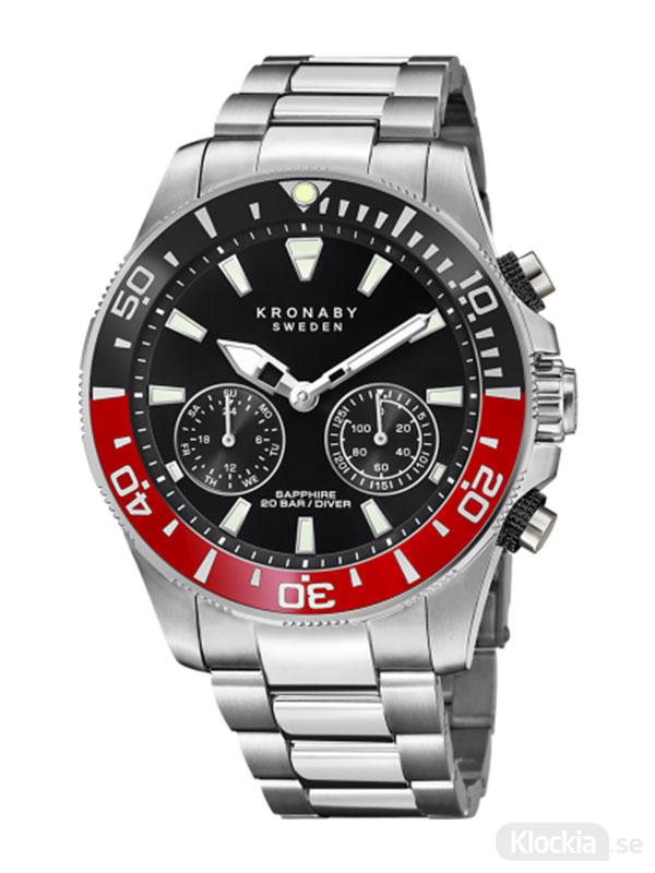 KRONABY Diver 45.5mm S3778/3 - Smartwatch