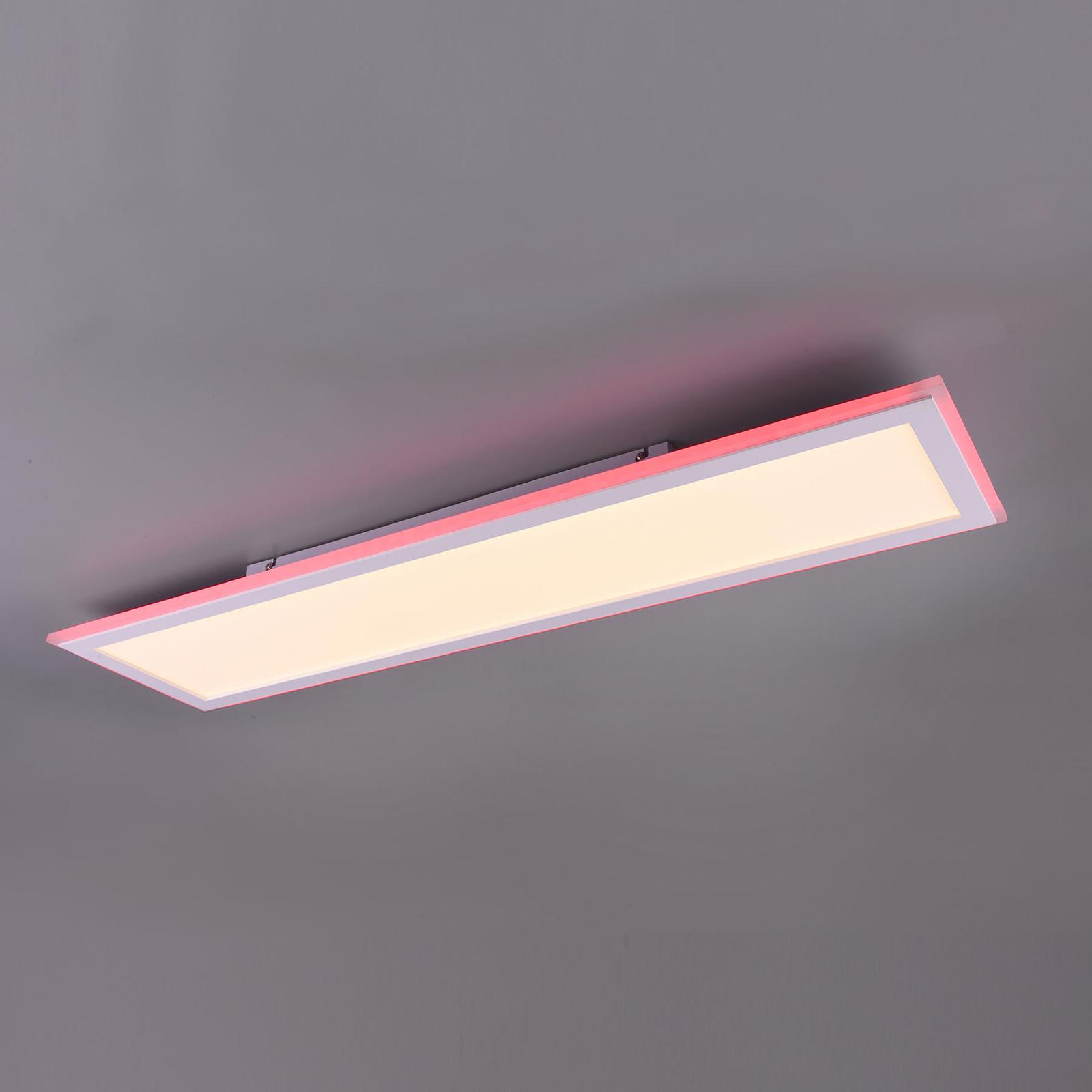 LED-paneeli Columbia RGBW, kaukosäädin, 100x25 cm