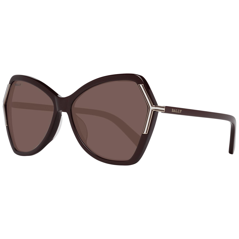 Bally Women's Sunglasses Burgundy BY0036-H 6069T