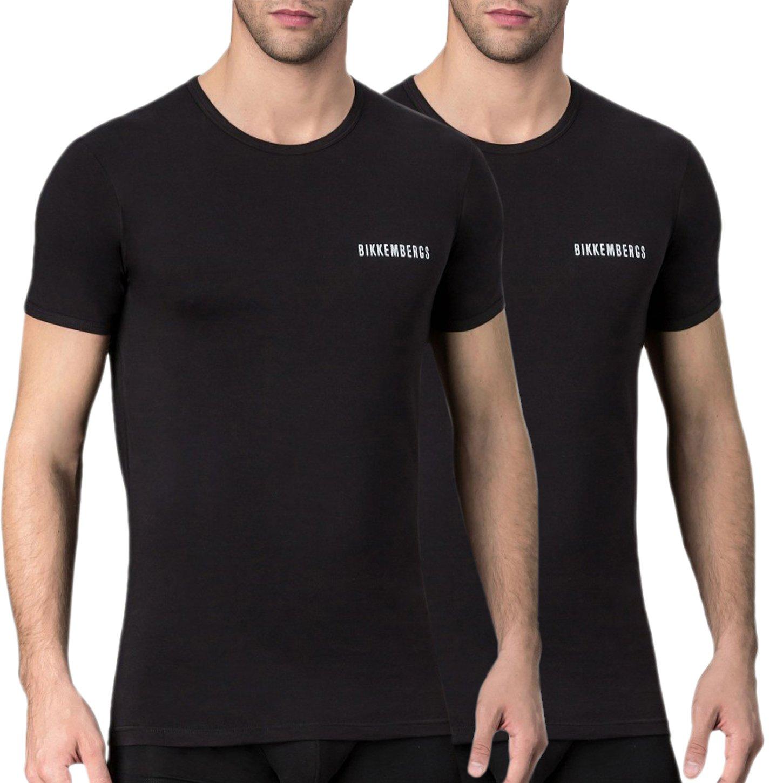 Bikkembergs Men's T-Shirt Various Colours VBKT04086 - black S
