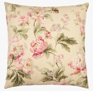 Floral balley koristetyyny moniväri/keltainen