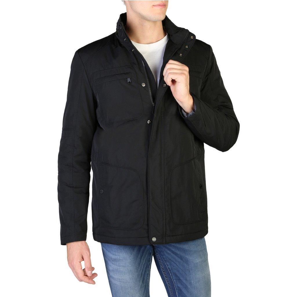 Geox Men's Jacket Black M9420RT2586 - black 54