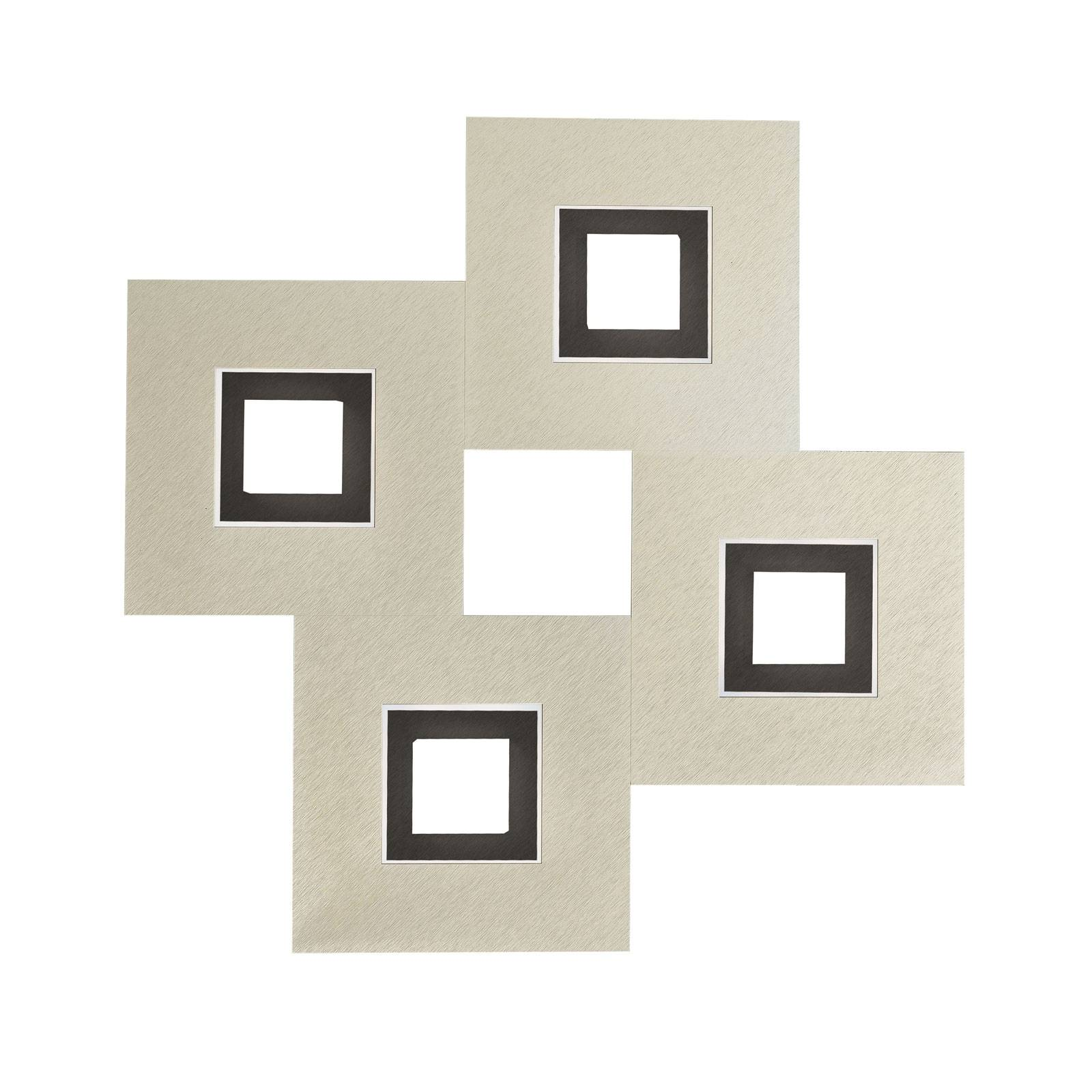 GROSSMANN Karree 4-lamppuinen 50x50, musta