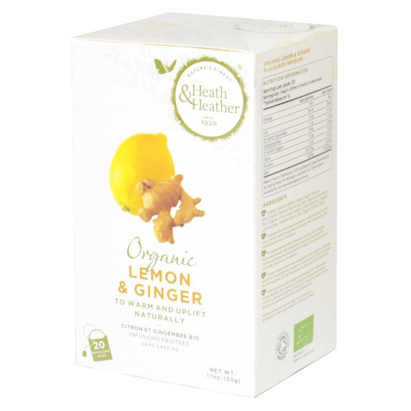 """Te """"Lemon & Ginger"""" 20-pack - 42% rabatt"""