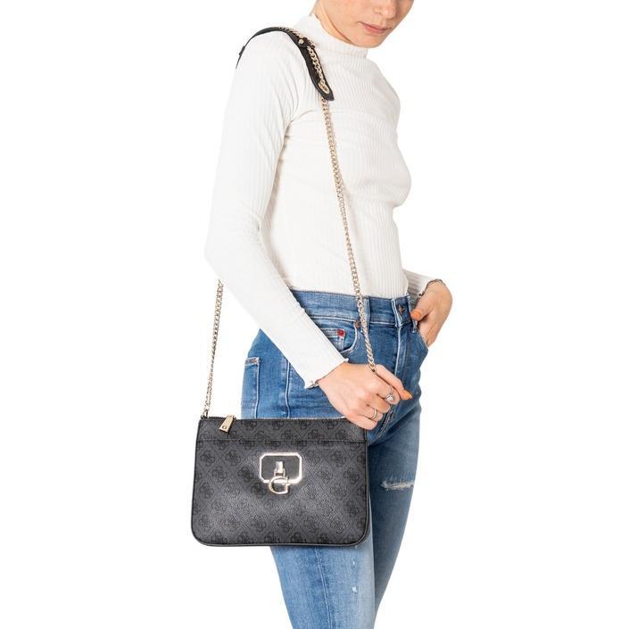 Guess Women's Shoulder Bag Various Colours 308442 - black UNICA