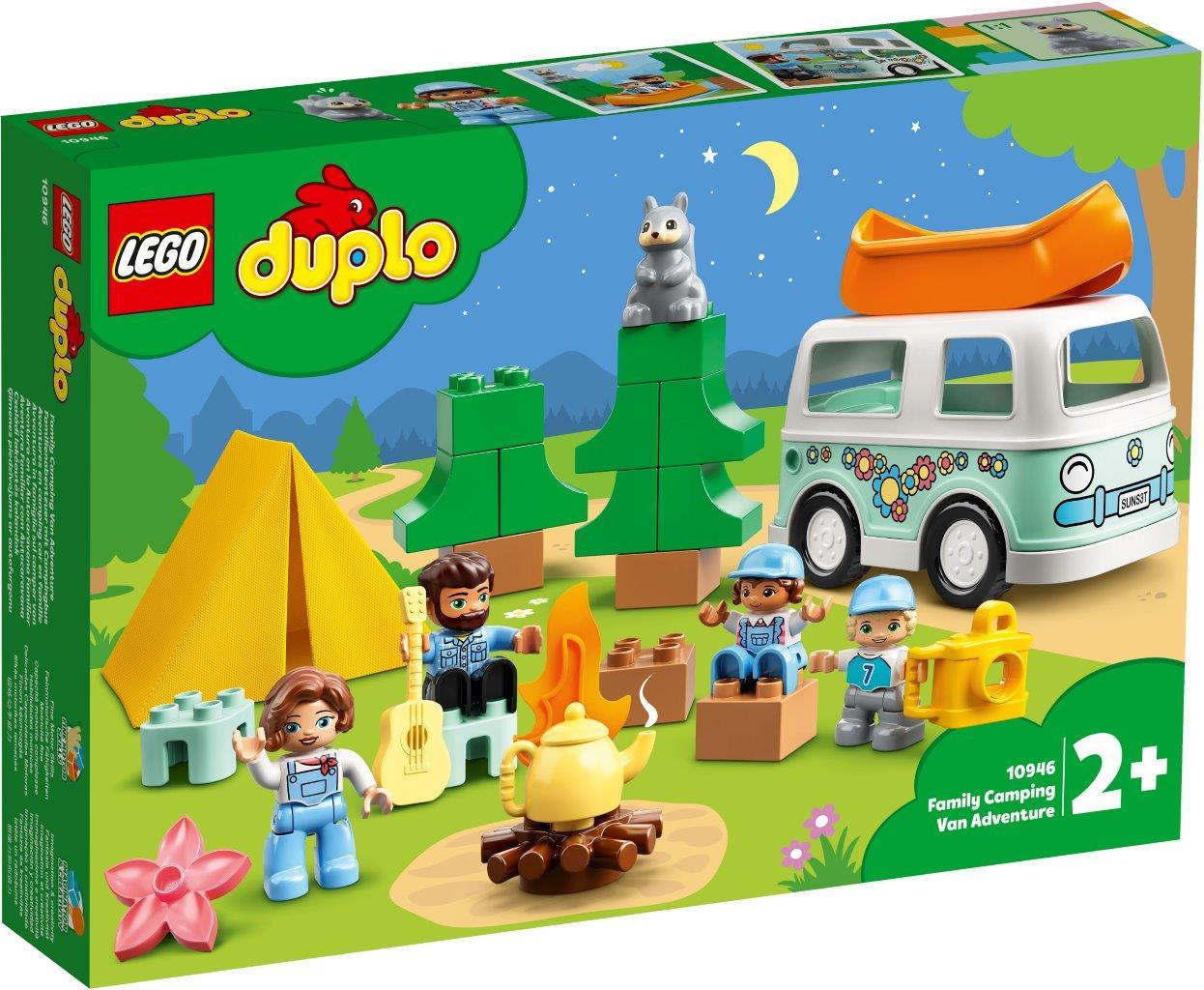 Lego Familie m/campingbil 10946
