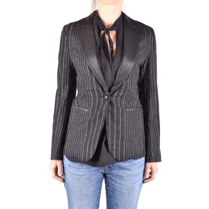 Jacob Cohen Women's Blazer Black 186786 - black 40