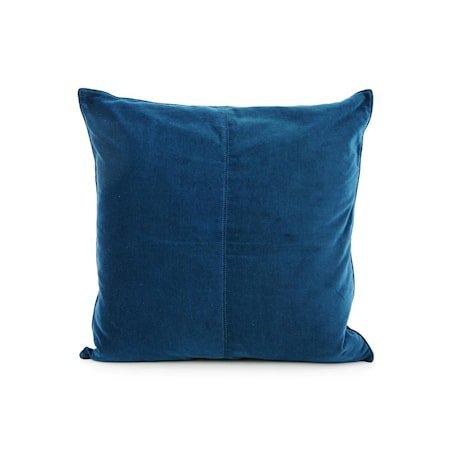Putevar Navy Blue Velvet 50 x 50 cm