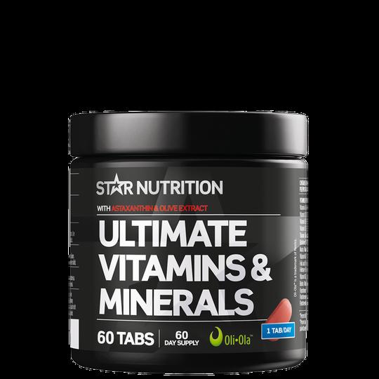 Ultimate Vitamins & Minerals, 60 tabs