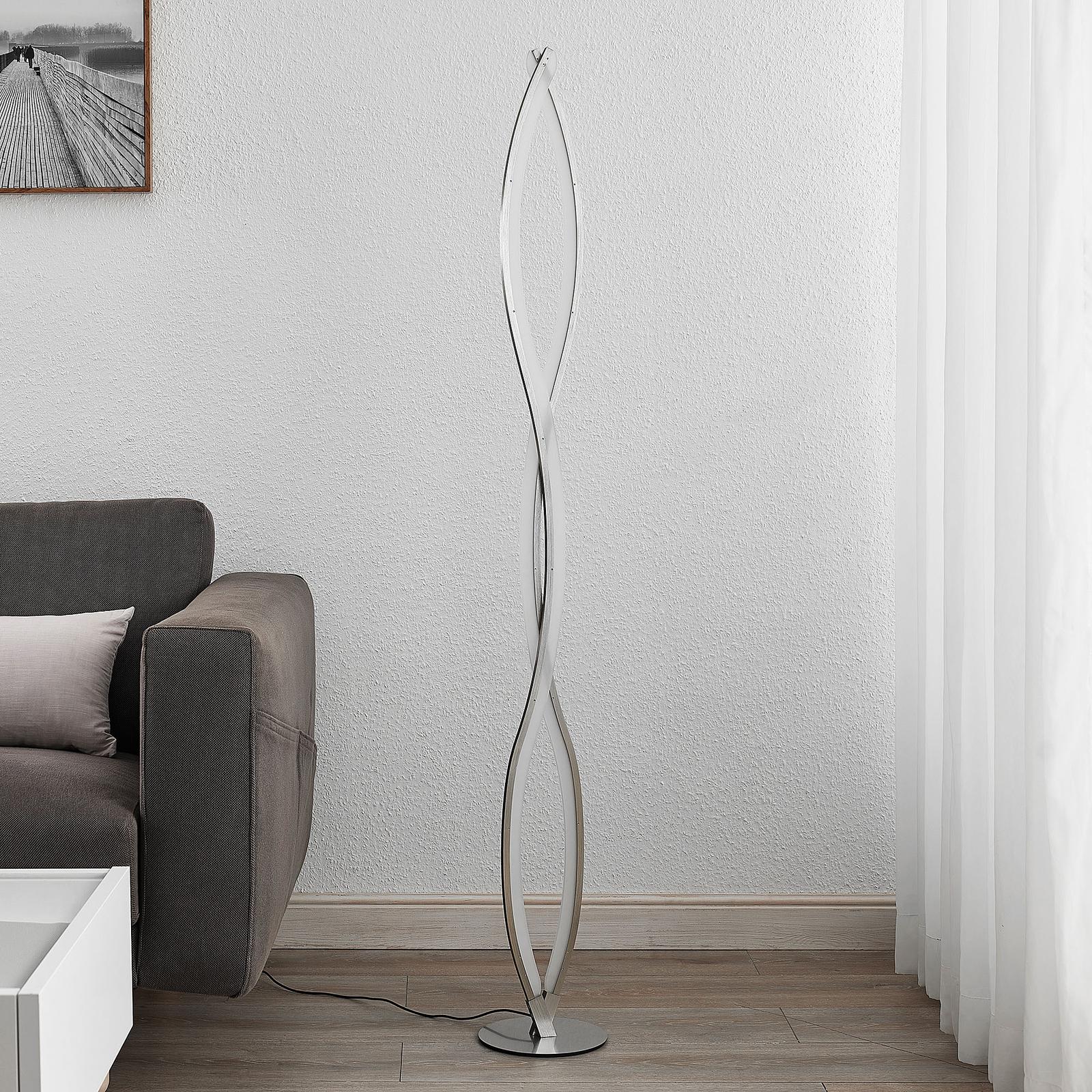 Lucande Demora -LED-lattiavalaisin