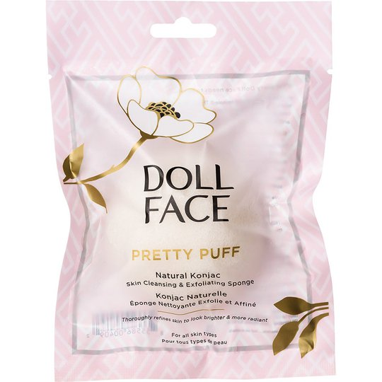 Doll Face Pretty Puff Natural Konjac Cleansing Sponge, Doll Face Ihonhoitolaitteet