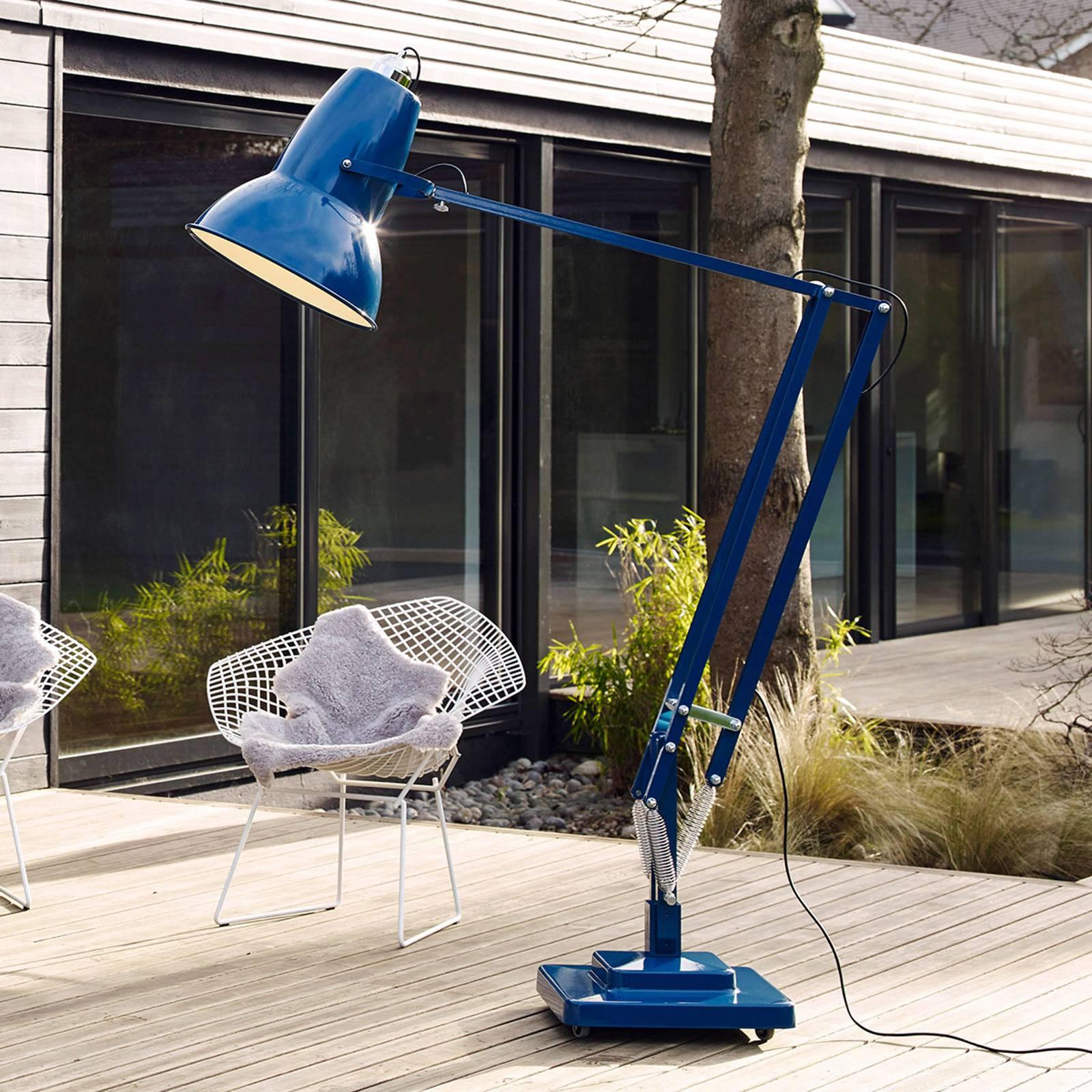 Anglepoise Original 1227 Giant -lattiavalo sininen