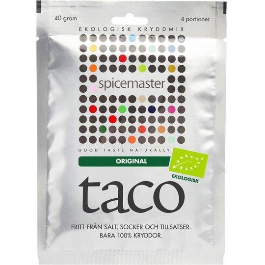 """Kryddmix """"Taco"""" 40g - 33% rabatt"""