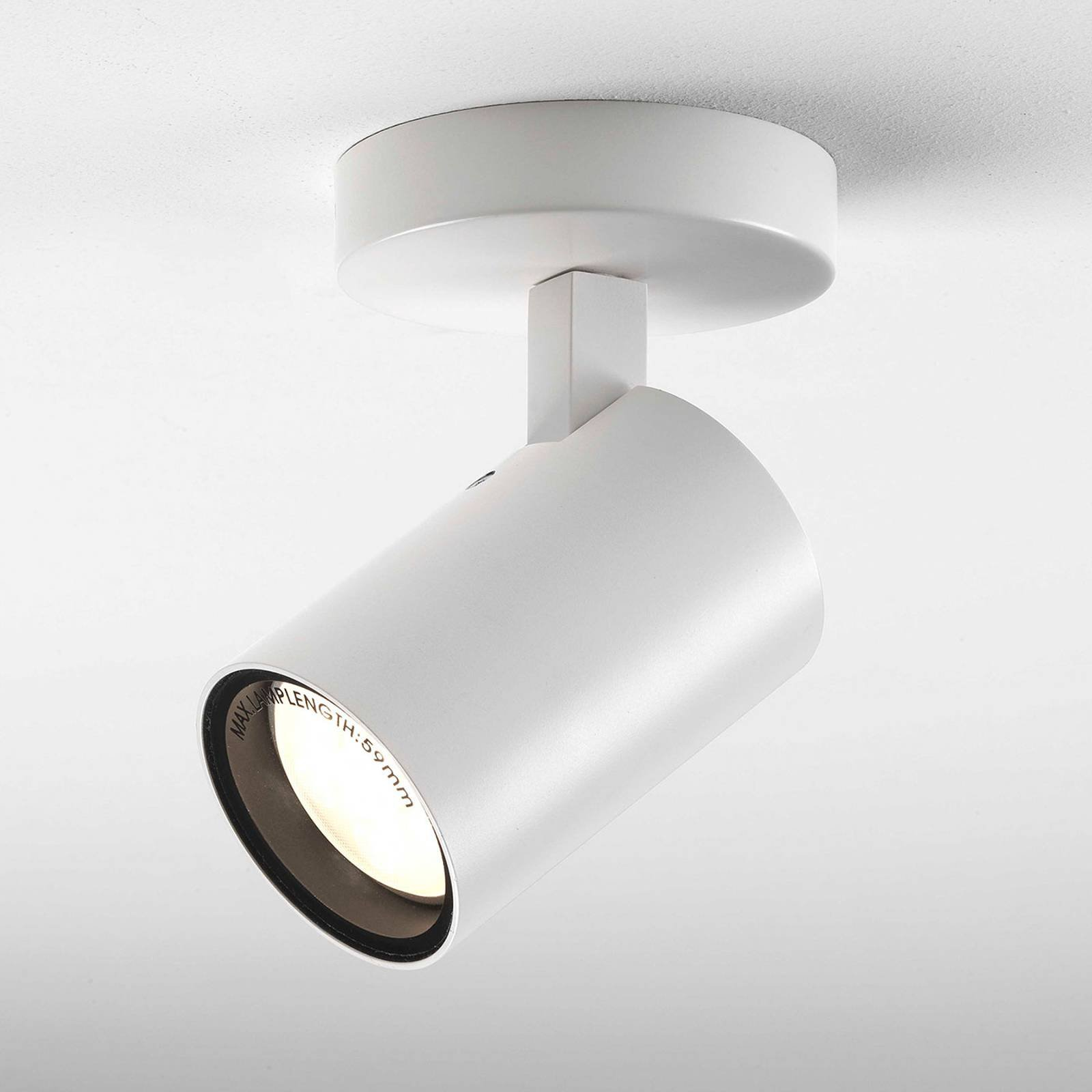Astro Aqua Single LED-taklampe til bad, hvit
