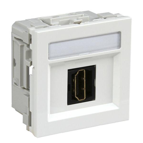 Schneider Electric INS64210 Multimedieuttak HDMI Hvit
