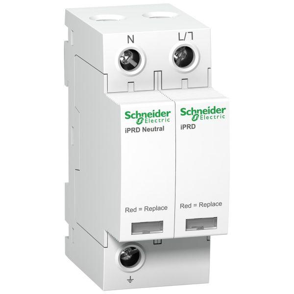 Schneider Electric A9L08501 Ylijännitesuoja Luokka II 1,4 kV, 2 johdinta