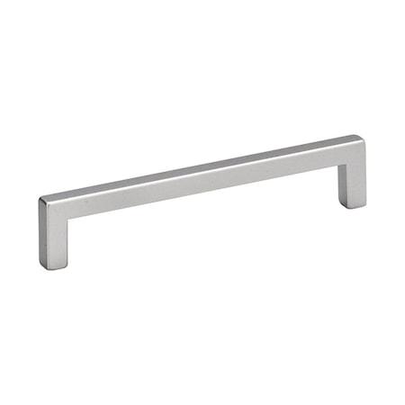 Handtag 0143, 137x9x28 - Aluminium look